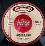 "45Re ✦ RICHIE BARRETT ✦ ""Some Other Guy / I Will Love You"" Top 60s R&B. Hear♫"